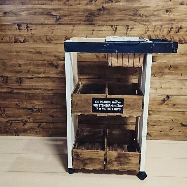 家具DIY キッチンワゴン