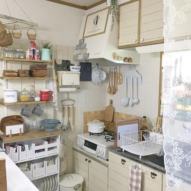 キッチンの《コンロ周り》7