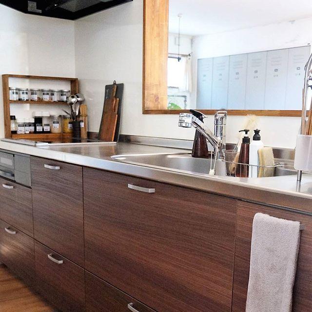 キッチンの《コンロ周り》5