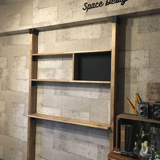 ディアウォールの基本的な設置方法①木材のカットは寸法がポイント