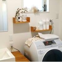 清潔で素敵なインテリアを保ちたい♪お洗濯を快適にするランドリー収納のヒント