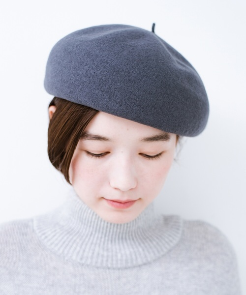 [haco!] バスクベレー帽