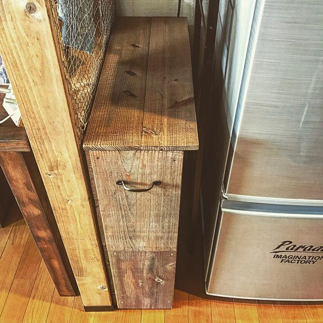 レジ袋収納 隙間収納 DIY