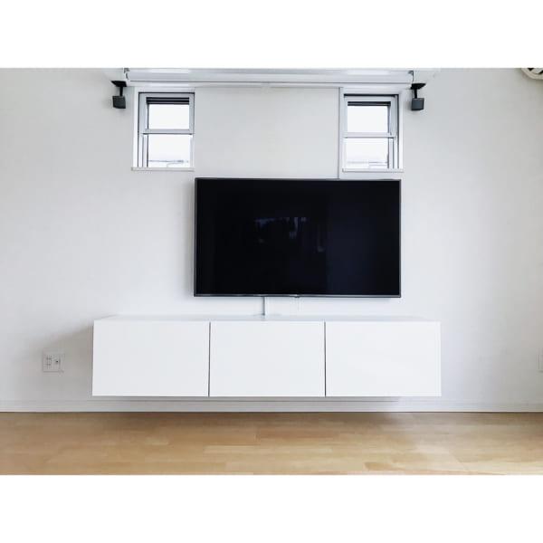 壁掛けテレビの配線を隠す方法4