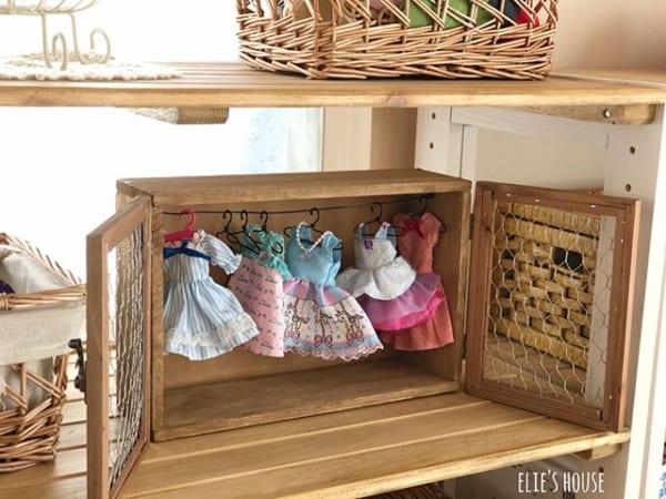 女の子の子供部屋インテリア 収納