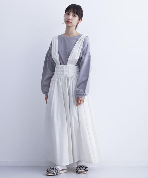 [merlot] ティアードフリルフラットサンダル094-1437