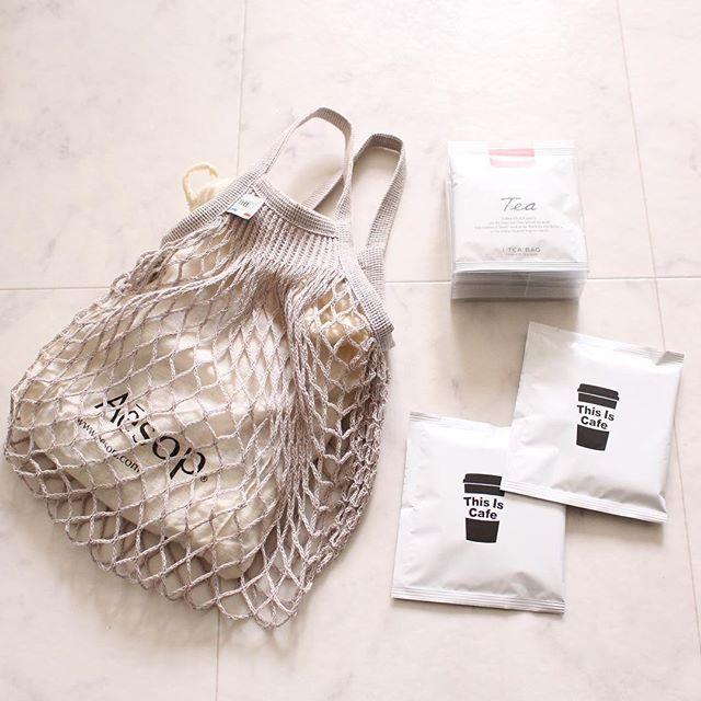 レジ袋収納 ネットバッグ