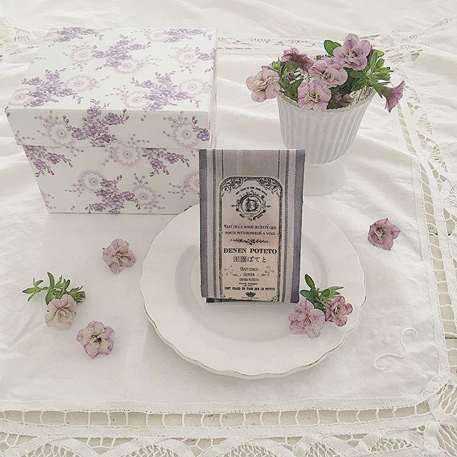 ビオラ ディスプレイアイディア 食卓