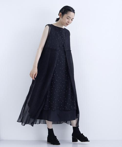 [merlot] 4連リボンサンダル000-3789