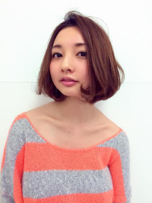ぽっちゃりさんに似合う髪型①ショート6