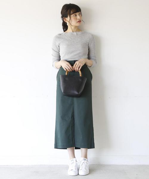 [coen] 【別注】 Dickies(ディッキーズ)ストレッチロングタイトスカート