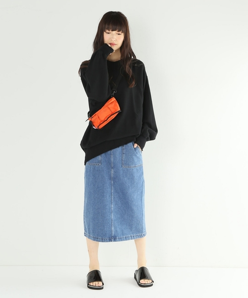 [JOURNAL STANDARD] 10ozデニムタイトスカート