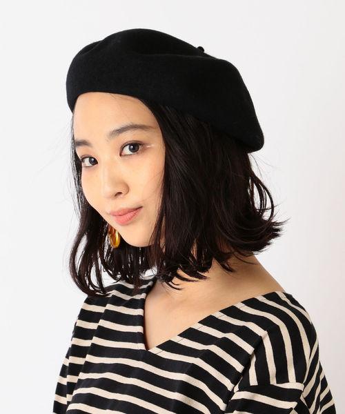 [SHIPS for women] ウールベレー帽◇