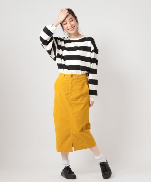 アヤコールカラーナロースカート