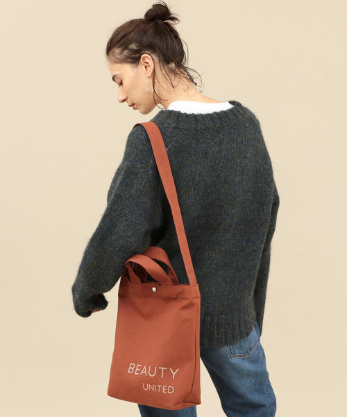 [BEAUTY&YOUTH UNITED ARROWS] BY キャンバスロゴトートバッグ -2WAY-