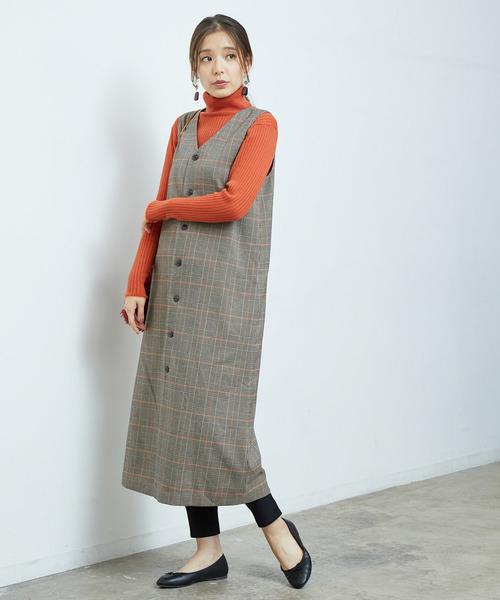 【2WAY】ロングジャンパースカート