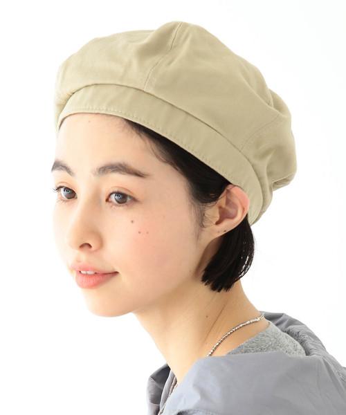 [BEAMS WOMEN] 【FUDGE 3月号掲載】BEAMS BOY / 6パネル ベレー帽