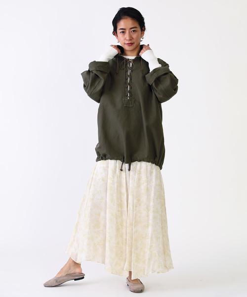 [FREAK'S STORE] Freada/フリーダ フラワーマキシスカート
