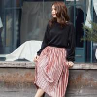 ポカポカ陽気の日はコーデも明るく☆〈カラースカート〉で出かけよう!