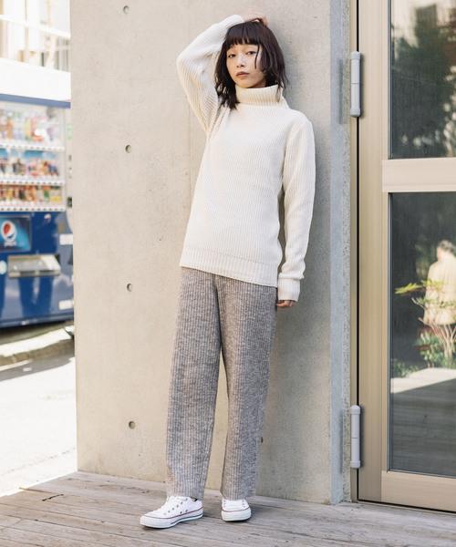 [ROOP TOKYO] WOOL MIX COLOR YARN・PANTS