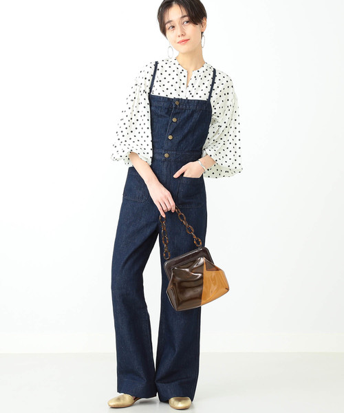 [BEAMS WOMEN] 【WEB限定】Lee / Marin サロペット