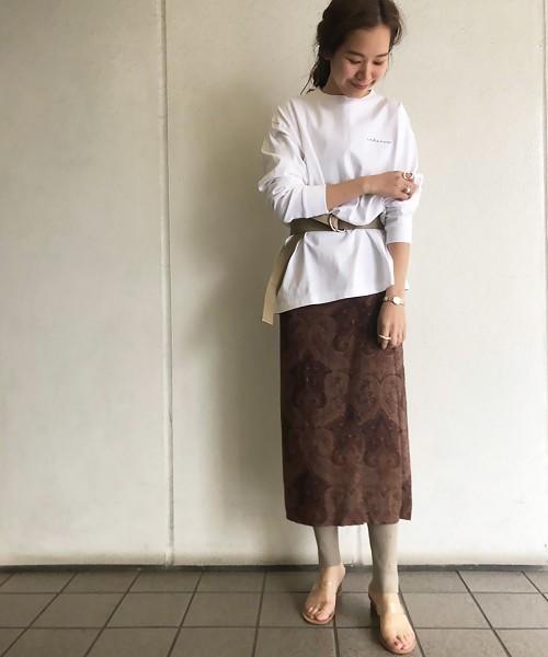 [TODAYFUL] ペイズリーWラップスカート