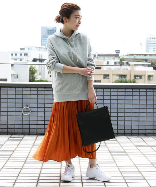 [FREAK'S STORE] 【WEB限定】プリーツスカート