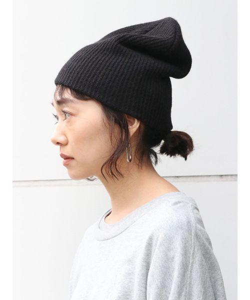 [Ungrid] リブ編みニット帽