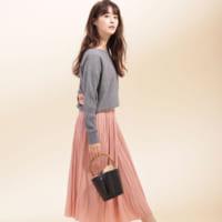 鮮やかなカラーのスカートで魅せる★大人の春コーデ15選