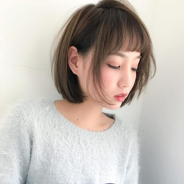 似合う髪型がわからない方におすすめのスタイル【ベース型編】2