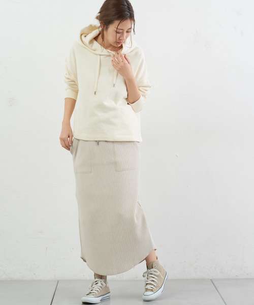変形リブIベイカースカート