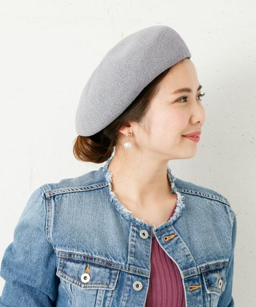 [URBAN RESEARCH] コットンベレー帽