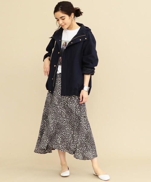 [BEAUTY&YOUTH UNITED ARROWS] 【WEB限定】by ※∴ドロップスリーブマウンテンパーカー