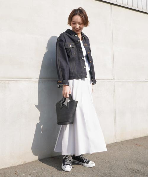 [LUCA/LADY LUCK LUCA] LC/LLL 12シームステッチフレアスカート
