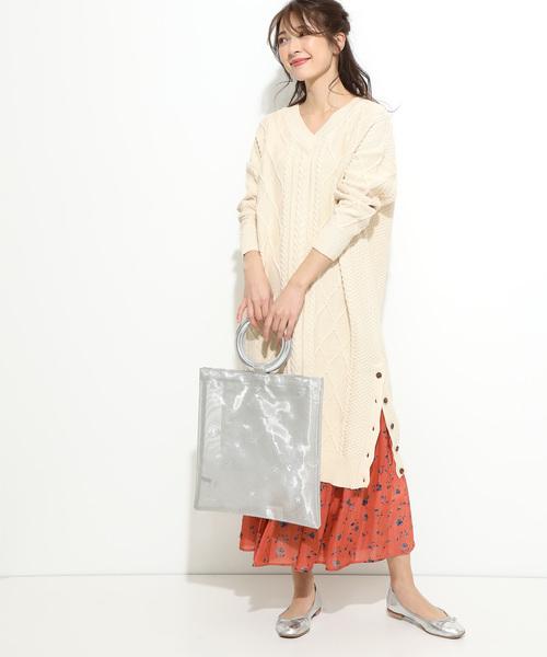 フラワーシャイニースカート