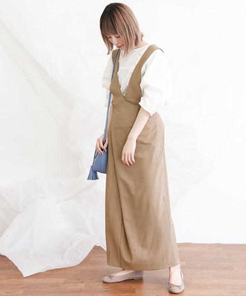 [KBF] 2way変形ラップスカート