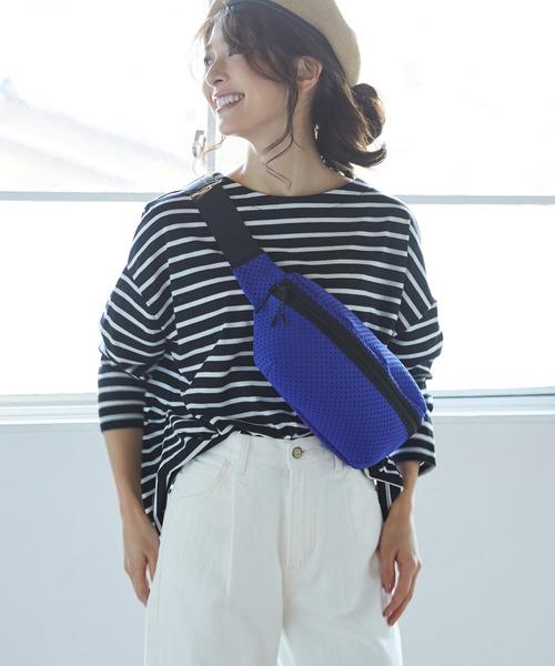 [ViS] 【WEB限定】【Casselini】スターパンチングウエストバッグ