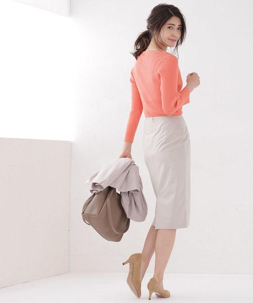ワイドベルトタイトスカート2