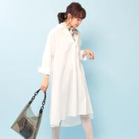 春はやっぱり《ホワイト系ワンピース》を着こなしたい!おすすめの大人女子コーデ15選