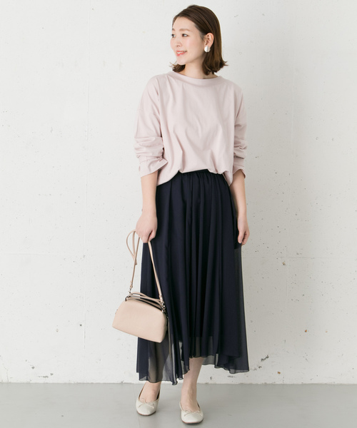[URBAN RESEARCH ROSSO WOMEN] アシンメトリーギャザースカート