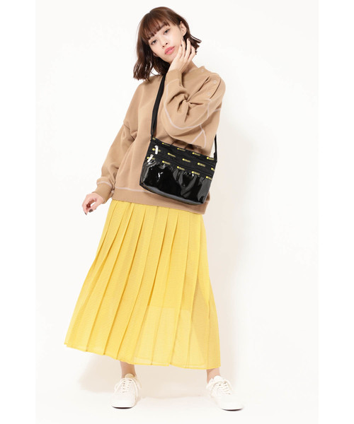 [ROSE BUD] (ROSE BUD) シアーチェックカラースカート
