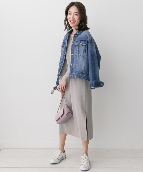 [URBAN RESEARCH ROSSO WOMEN] F by ROSSO オーバーサイズGジャン