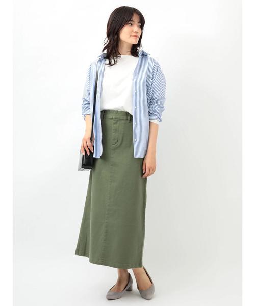 [AMERICAN HOLIC] 2WAY衿取り外しドルマンビッグシャツ
