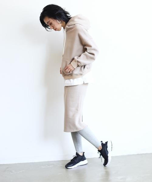 [Auntie Rosa] 【SHAGGIE】スウェットタイトスカート