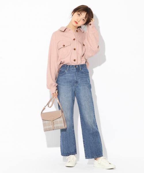 [Heather] メランジBIGシャツ 830713
