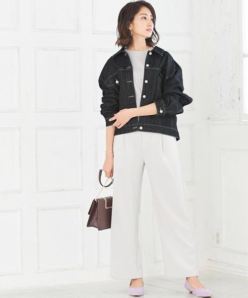 [Pierrot] オーバーサイズデニムジャケット