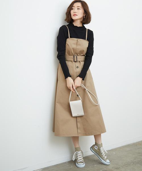 [ROPE' PICNIC] トレンチジャンパースカート