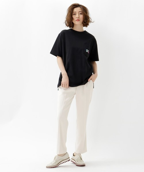 [BASESTATION] DISKロゴTシャツ