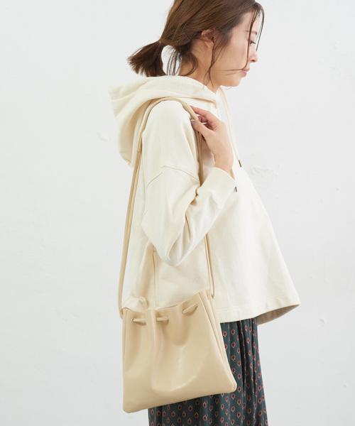 [CIAOPANIC TYPY] フェイクレザー巾着BAG