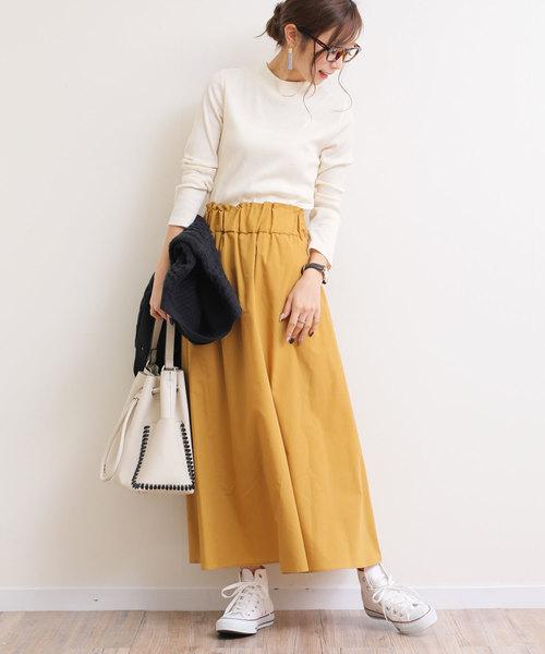 軽やかフレアスカート